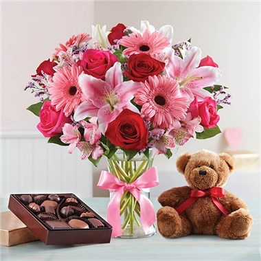 1-800-FLOWERS® VALENTINE SURPRISE | Bouquet Florist & Gifts