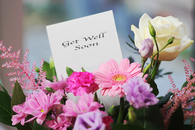How flowers really help someone who is sick - Blogs | Bouquet ...